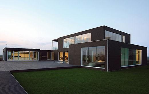 La casa modulare realizzata da Pircher 01