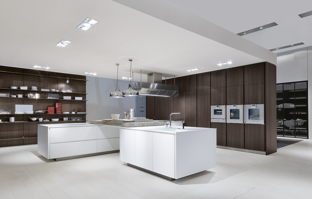 Poliform Varenna Kitchen Cabinets