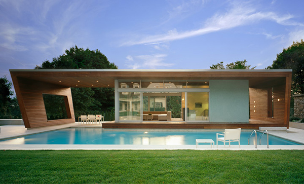 Wilton Pool House by Hariri & Hariri Architecture 01