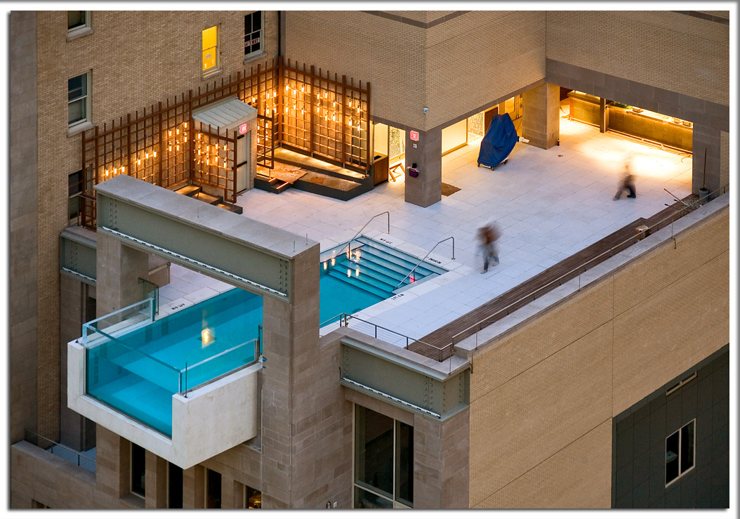 A pool at 10th Floor in Dallas.