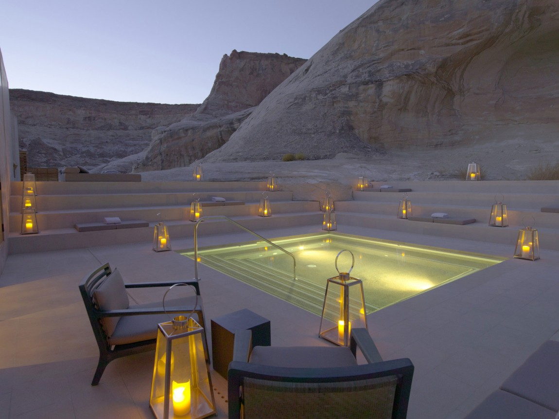 Amangiri Luxury Resort Hotel in Canyon Point, Utah 01