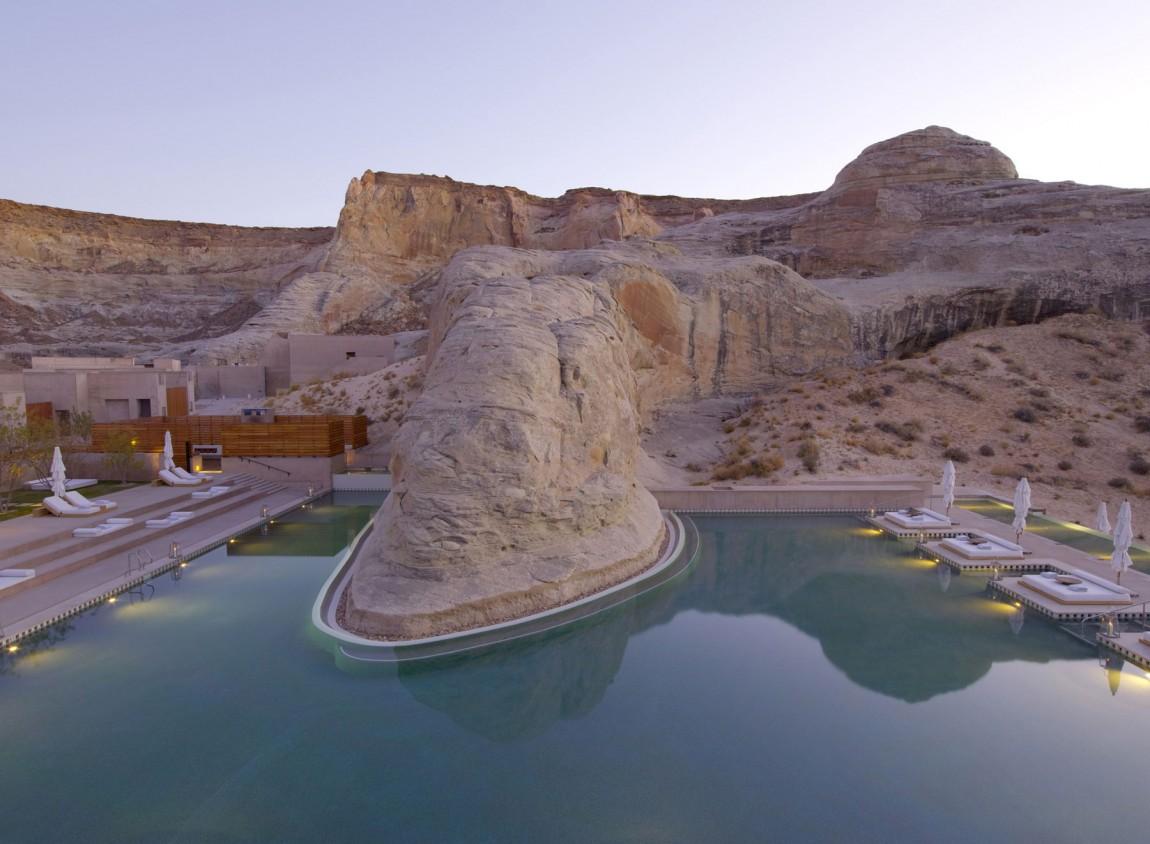 Amangiri Luxury Resort Hotel In Canyon Point Utah 02 Myhouseidea