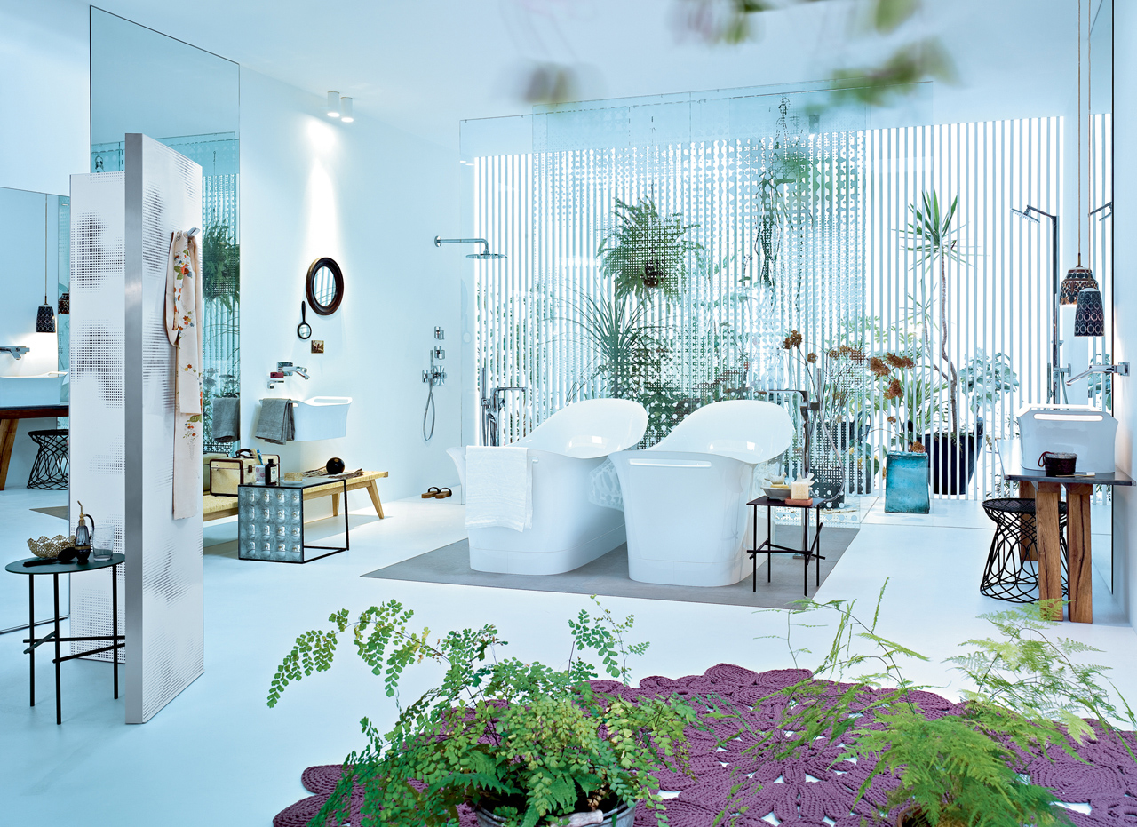 Luxury and Feminine Bathroom Design Ideas From Hansgrohe