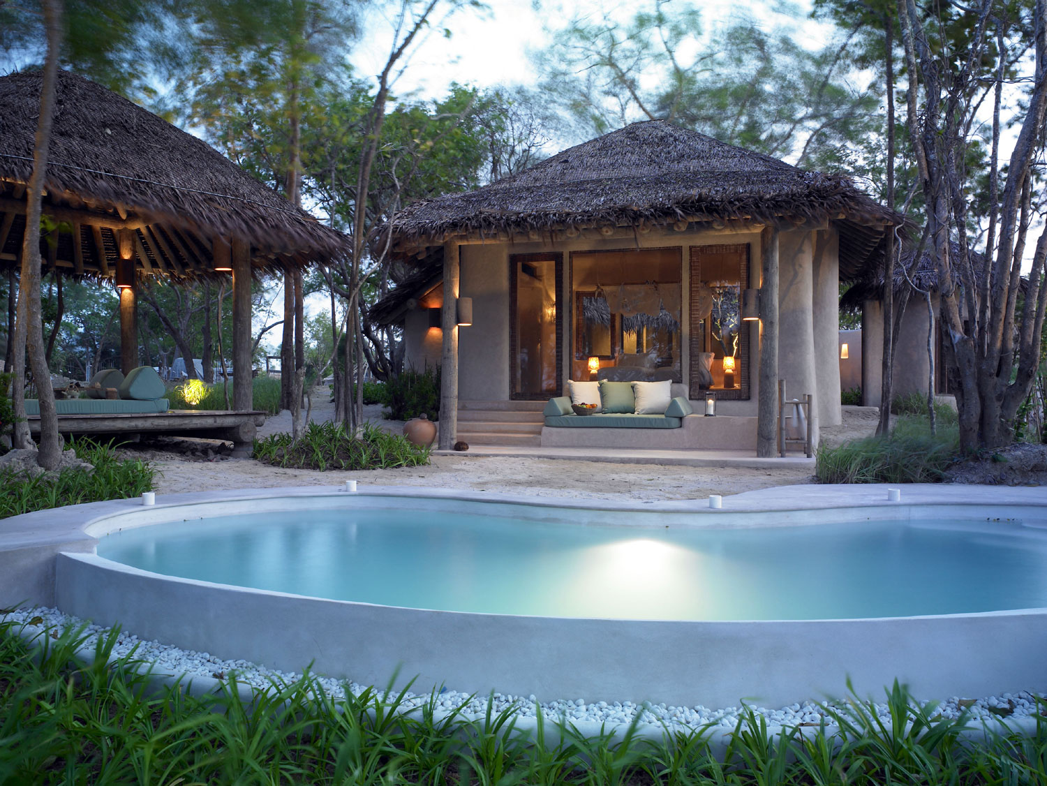 Pool Villa Six Senses in Thailand