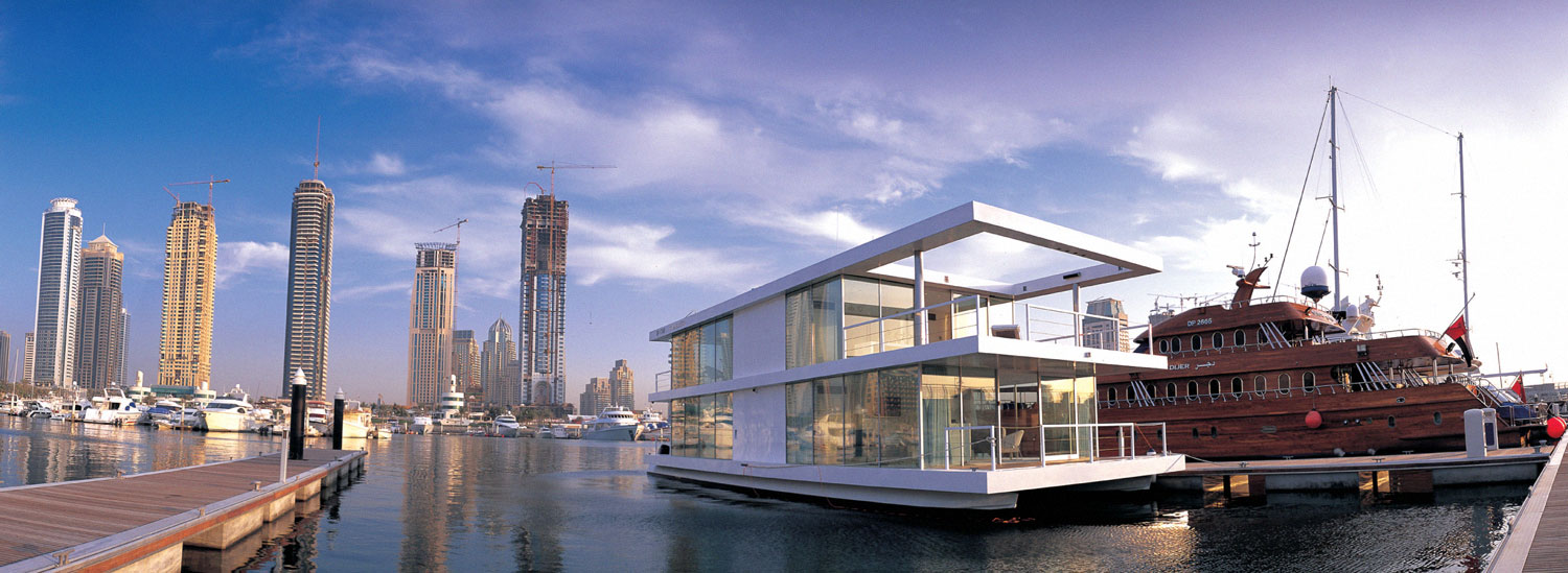 'O' de Squisito Boat House in Dubai by X Architects