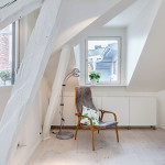 20 Attic apartment in Stockholm.