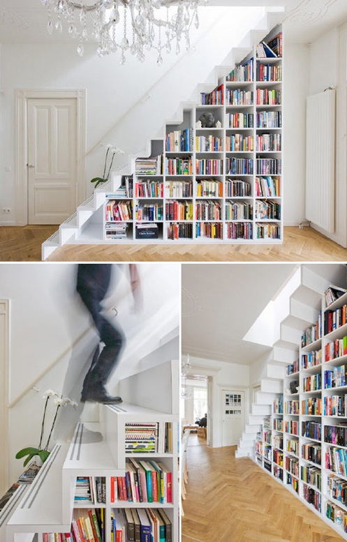 Overtoom Staircase by Marc Koehler Architecture