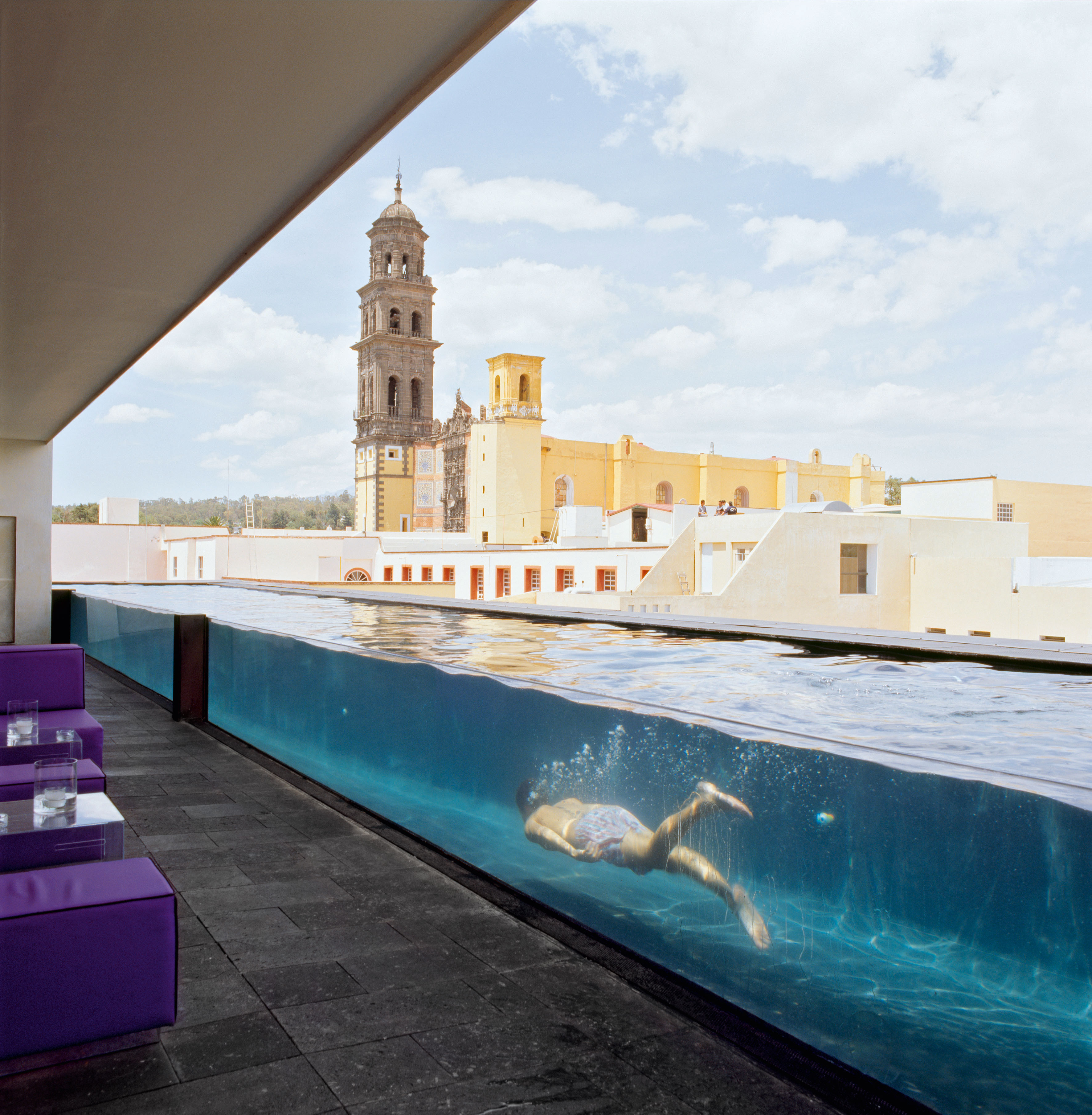 terrace pool in la purificadora hotel mexico myhouseidea On terrace pool