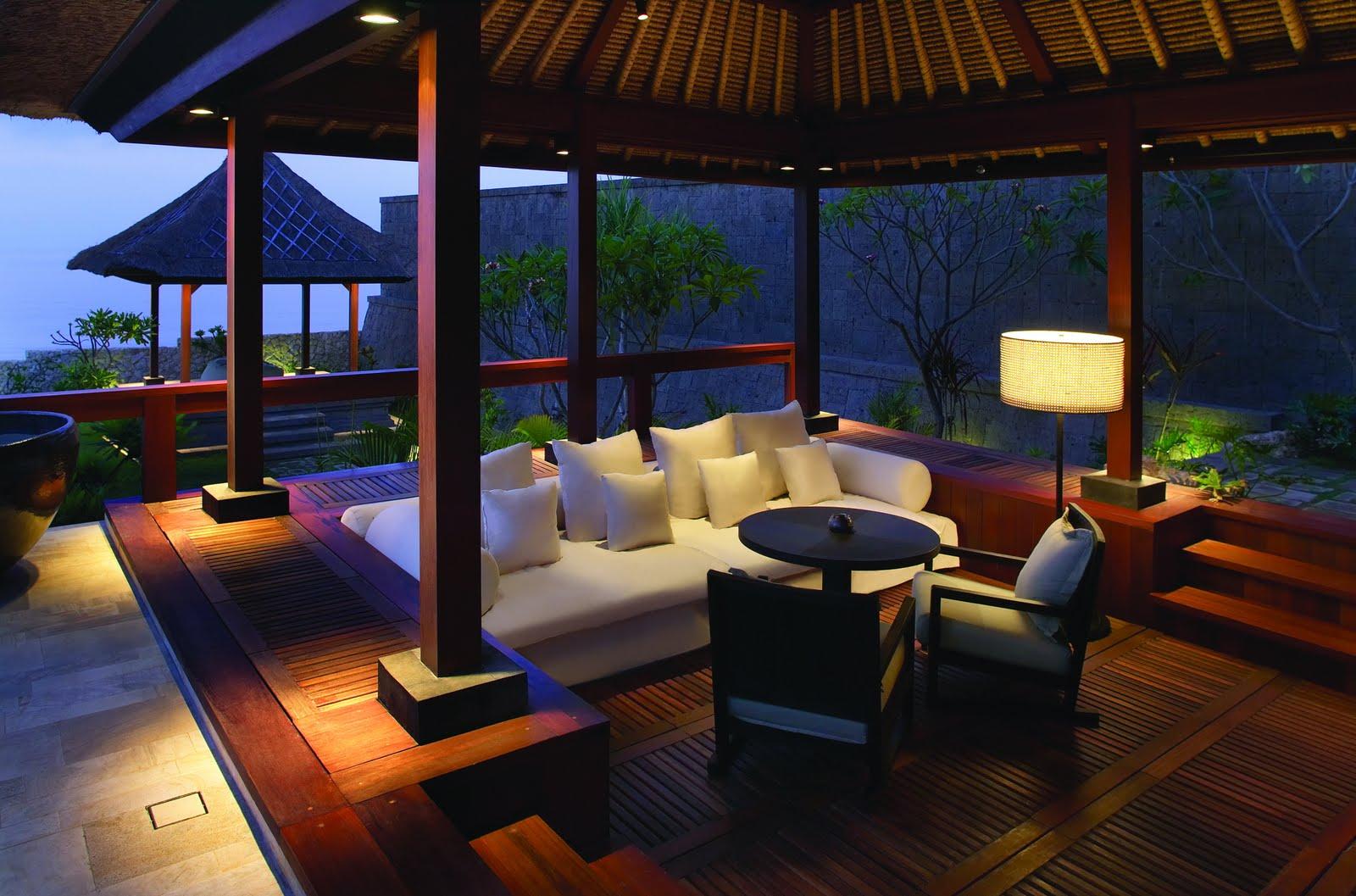 The Bulgari Villa Hotel Outdoor Living Room MyHouseIdea
