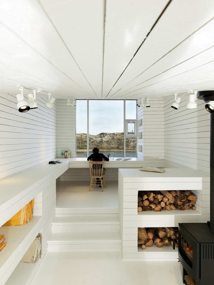 'Bridge studio' by Saunders architecture, Fogo Island, New Foundland, Canada