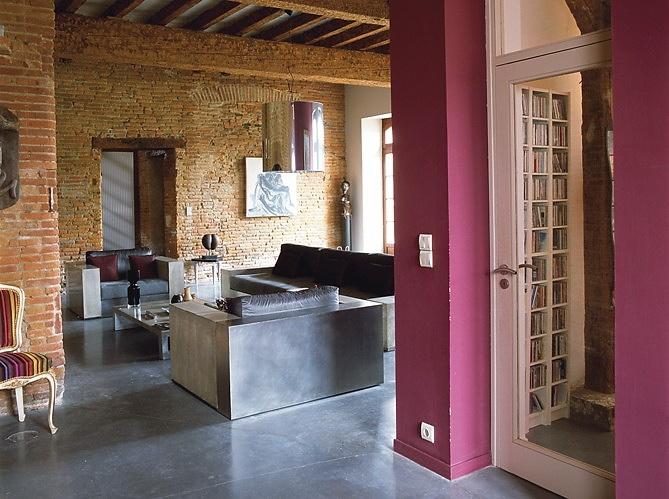 French Stone Interior Design 03 - MyHouseIdea
