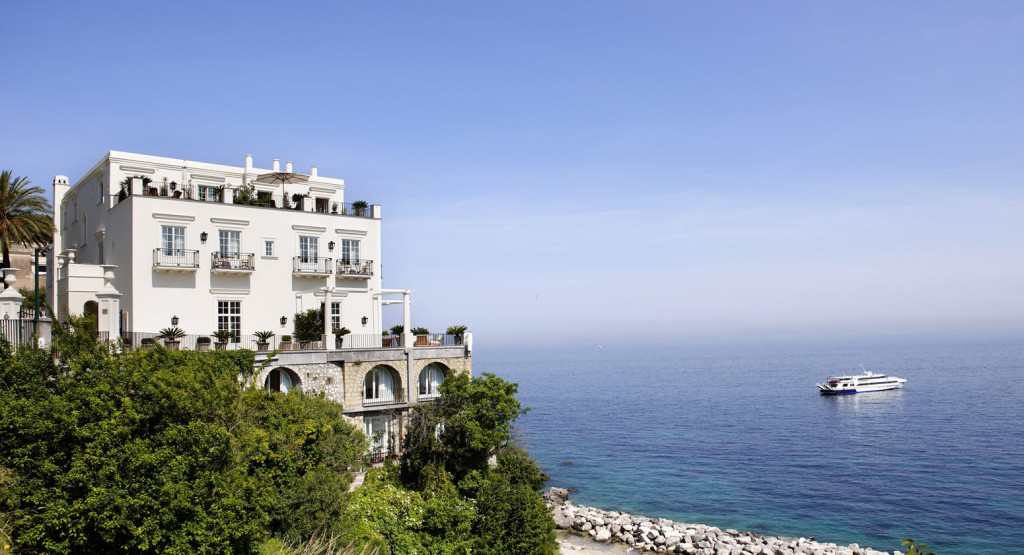 Decordemon j k place capri italy for Design hotel naples italy