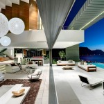 SAOTA, Stefan Antoni Olmesdahl Truen Architects and OKHA Interiors designed the Nettleton 199 house in Cape Town, South Africa.
