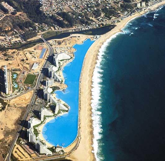 world s largest pool the crystal lagoon chile myhouseidea