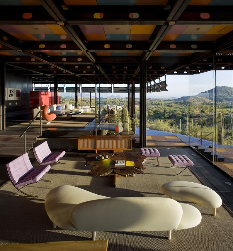 Panoramic Living In Relic Rock House