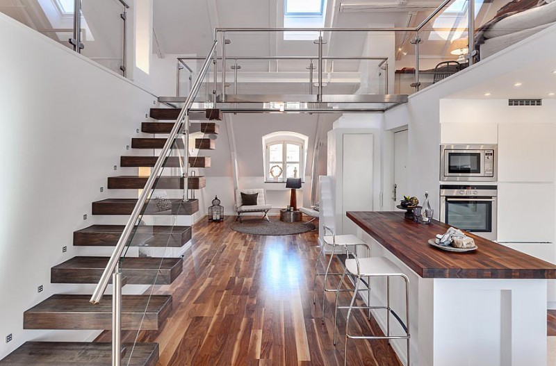 Swedish Loft Apartment In The Roeda Bergen Myhouseidea