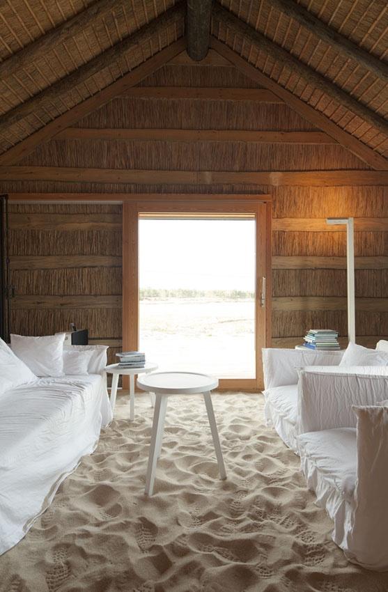 Living in a beach house