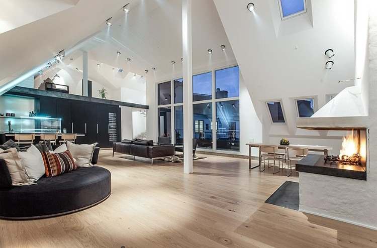Attic Penthouse in Stockholm 01
