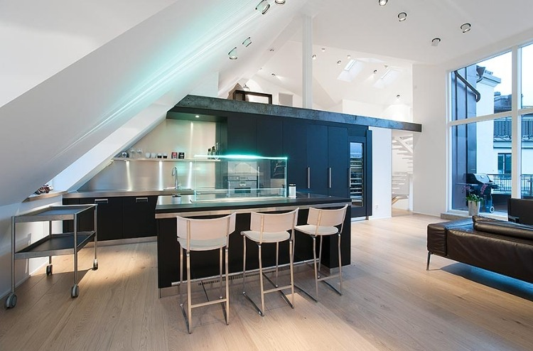 Attic Penthouse in Stockholm 02