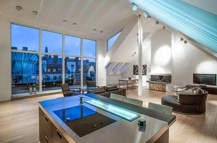 Attic Penthouse in Stockholm 03