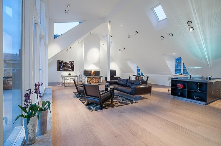 Attic Penthouse in Stockholm 04