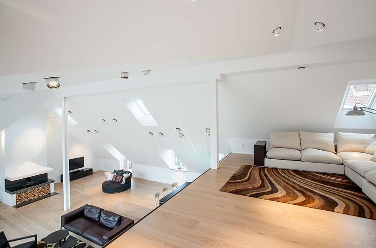 Attic Penthouse in Stockholm 06