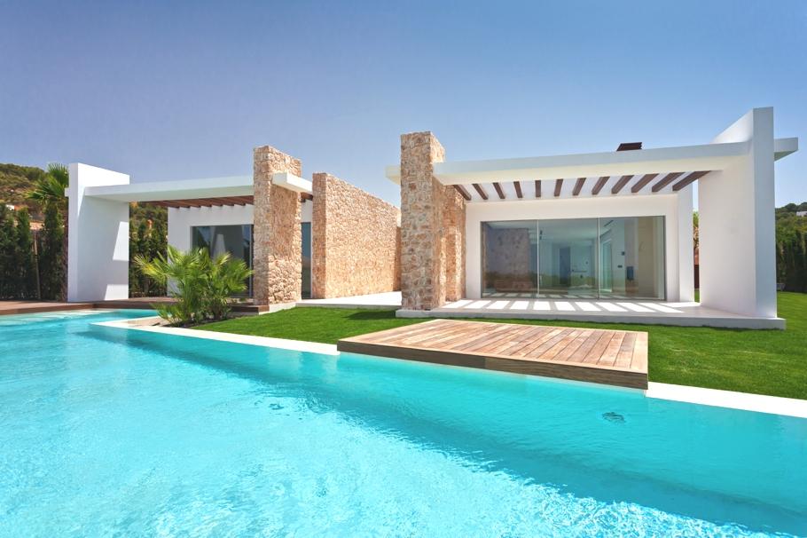 Luxury house in cala conta ibiza myhouseidea - Las mejores casas del mundo ...