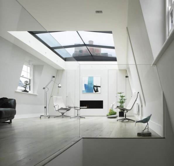 House In London With A Retractable Glass Roof 2 Myhouseidea