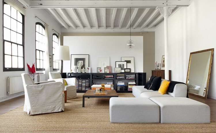 New York Loft Style In Barcelona 01