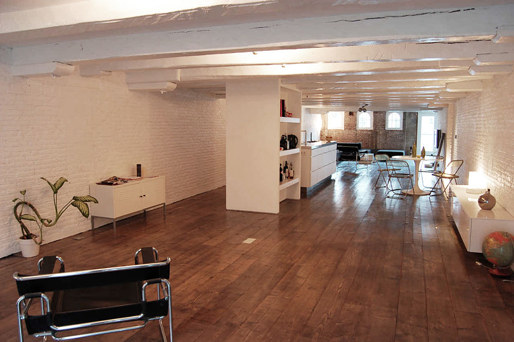 Brouwersgracht apartment amsterdam by cube and soluz 03 for Hotel amsterdam cube