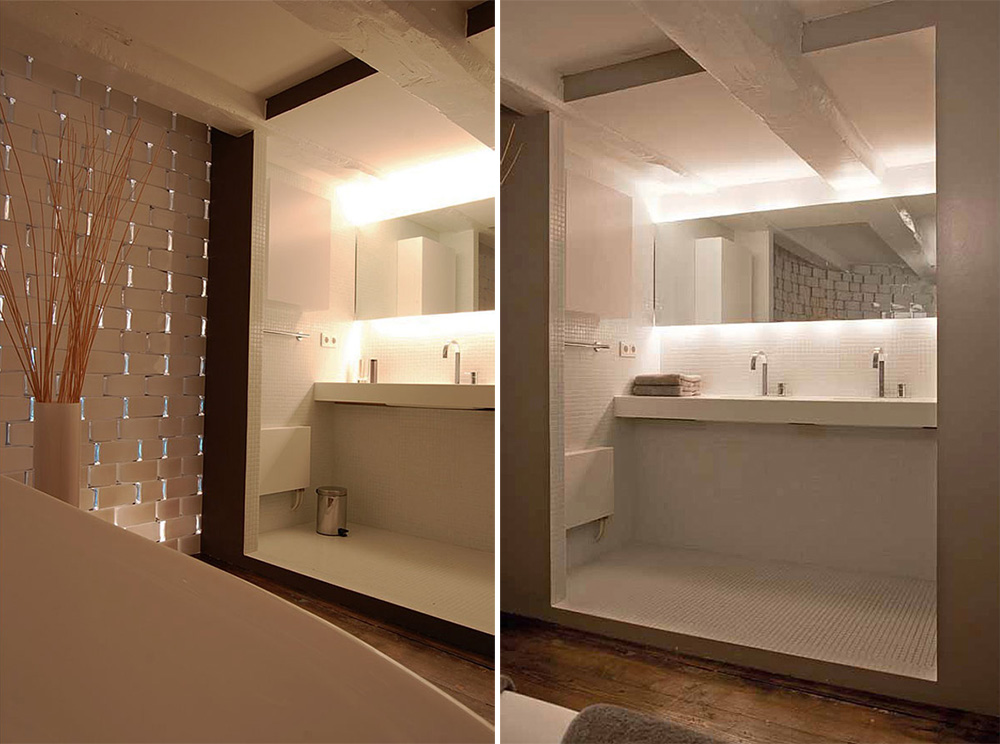 Brouwersgracht apartment amsterdam by cube and soluz 16 for Hotel amsterdam cube