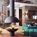 blesso loft   Blesso Loft Design by Joel Sanders Architect. - MyHouseIdea