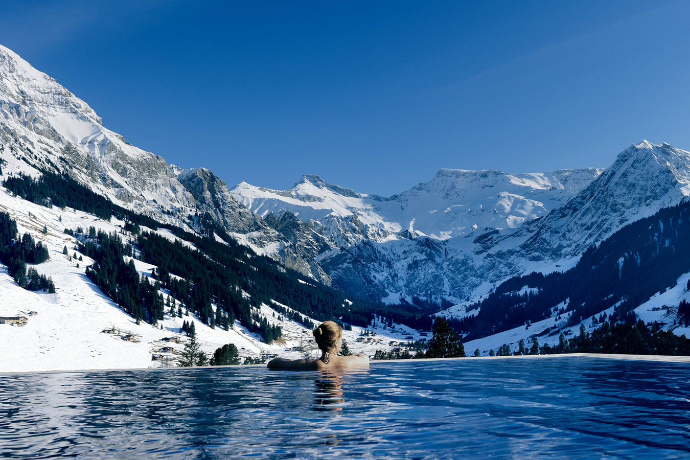 The Cambrian Hotel Adelboden, Swiss Alps 01