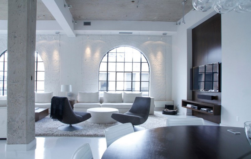 Chic Montreal Penthouse by Julie Charbonneau 03