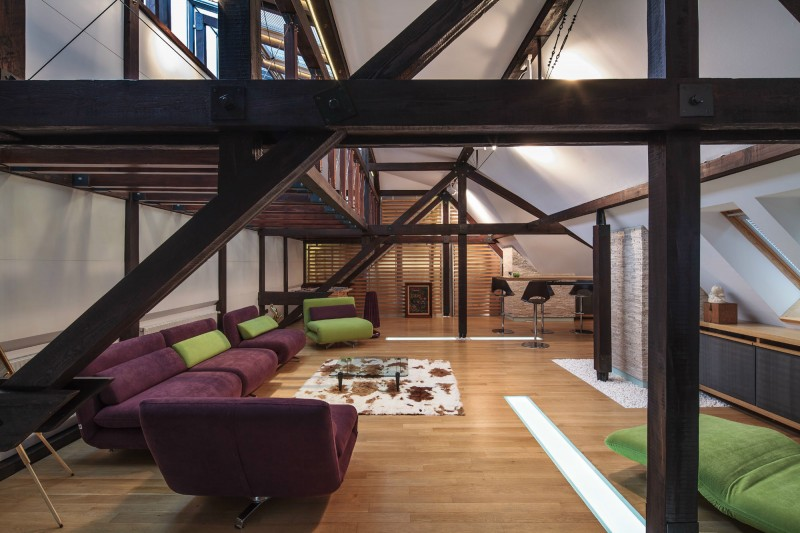 Loft in Bucharest by TECON 02