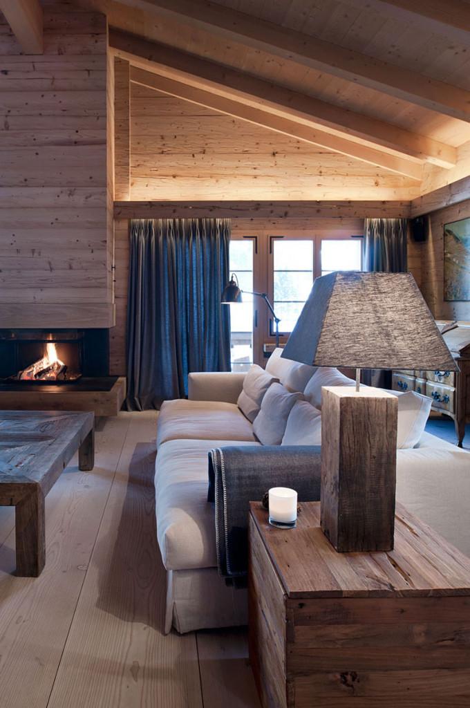 Chalet gstaad by ardesia design 04 myhouseidea - Modern chalet interieur ...