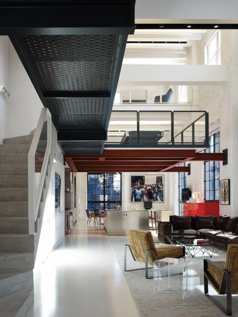 wohnzimmer modern loft : Urban Loft Apartment Urban Loft Apartment Uplod Industrial Loft