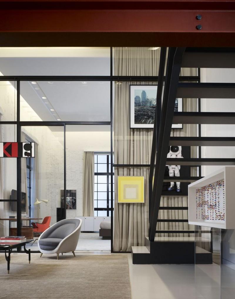 Chicago loft by studio gang and bertrand benoit 03 for Interior design chicago