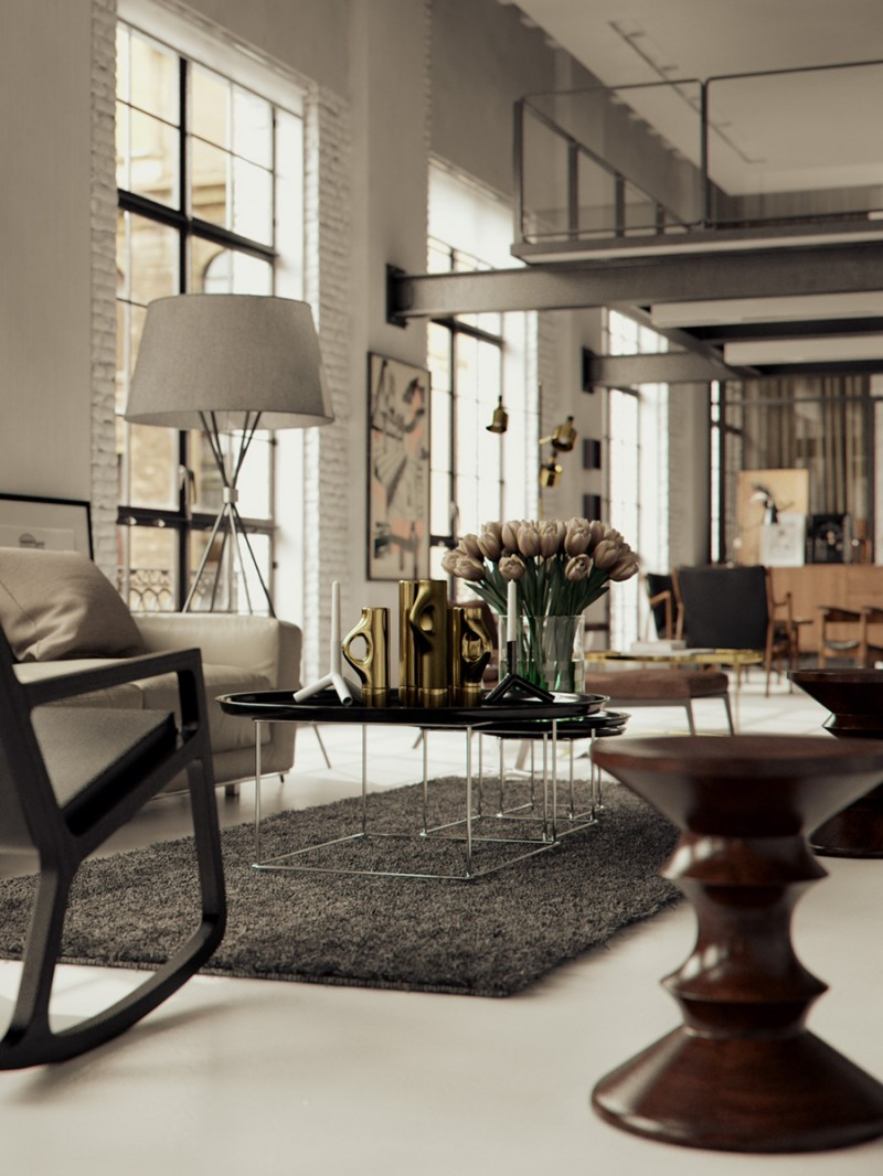 Chicago Loft by Studio Gang and Bertrand Benoit 04