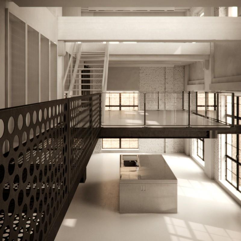 Chicago Loft By Studio Gang And Bertrand Benoit 11