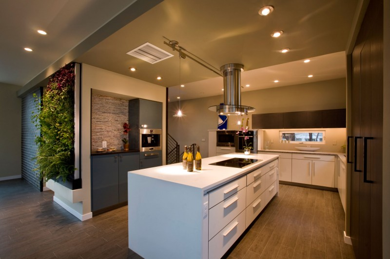 Green cube leed platinum show home by re dzine 02 for Leed platinum home