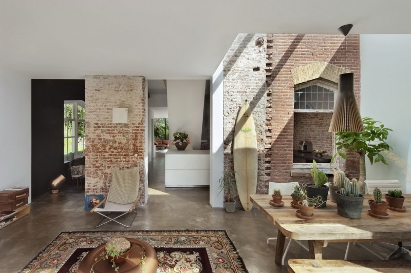 Santpoort Rail House by Zecc Architects and ZW6 Interior 03