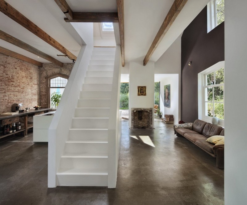 Santpoort Rail House by Zecc Architects and ZW6 Interior 05