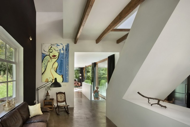Santpoort Rail House by Zecc Architects and ZW6 Interior 06