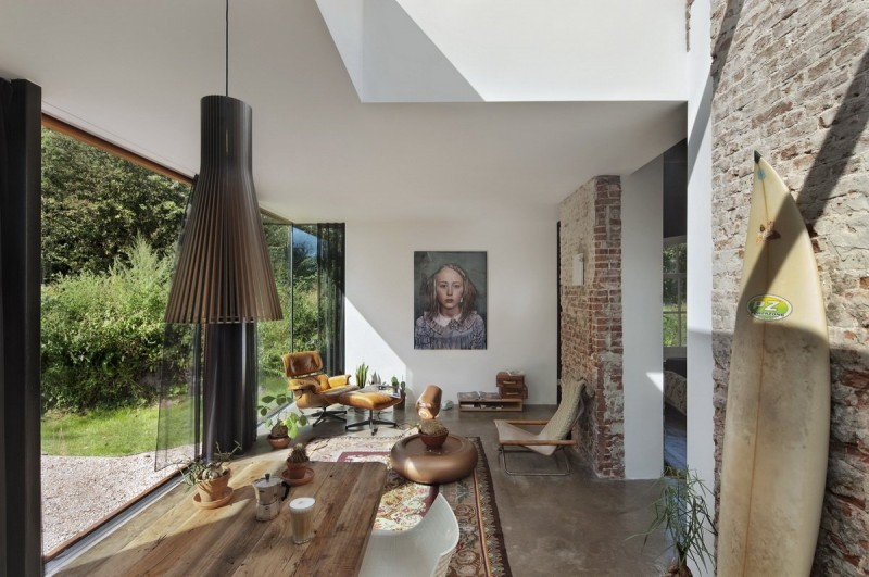 Santpoort Rail House by Zecc Architects and ZW6 Interior 08