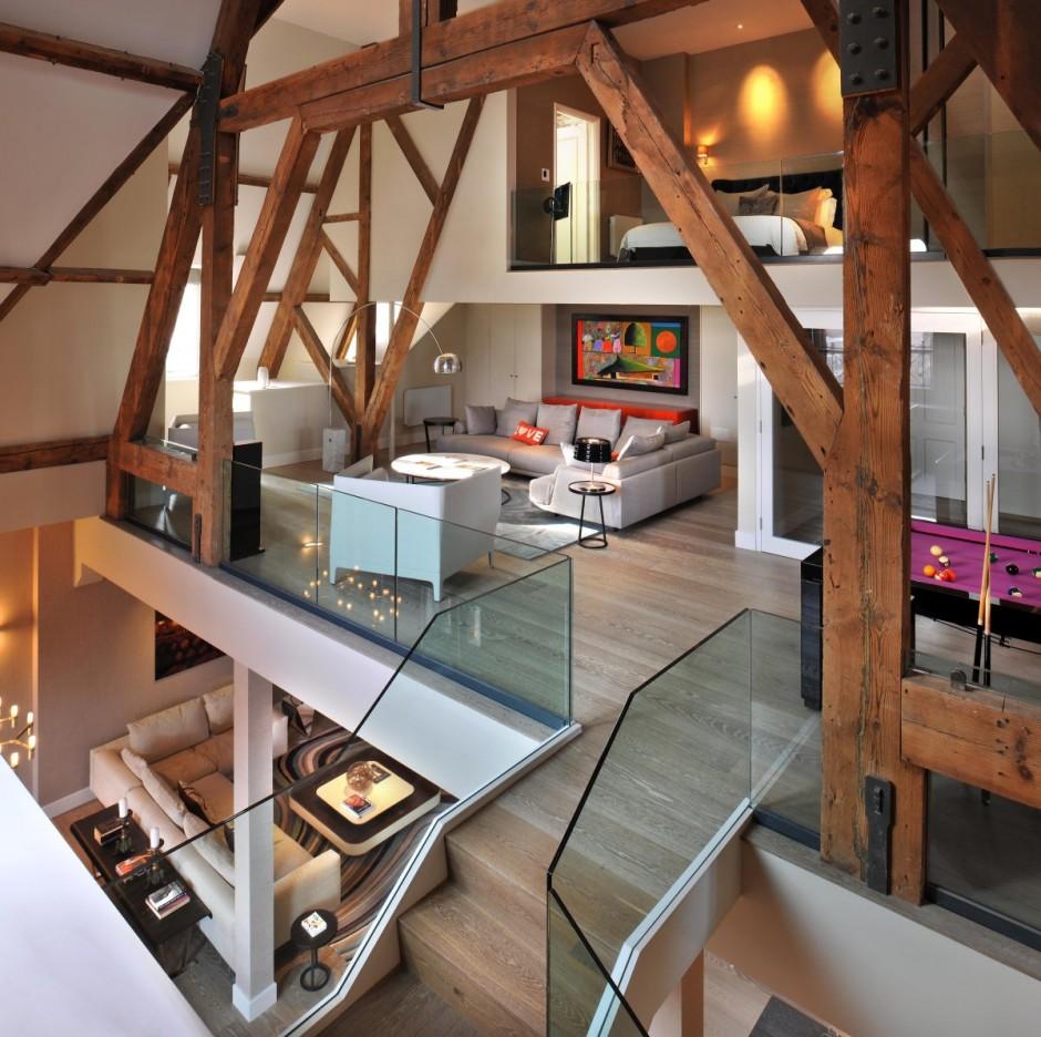 St Pancras Penthouse Apartment by Thomas Griem 01