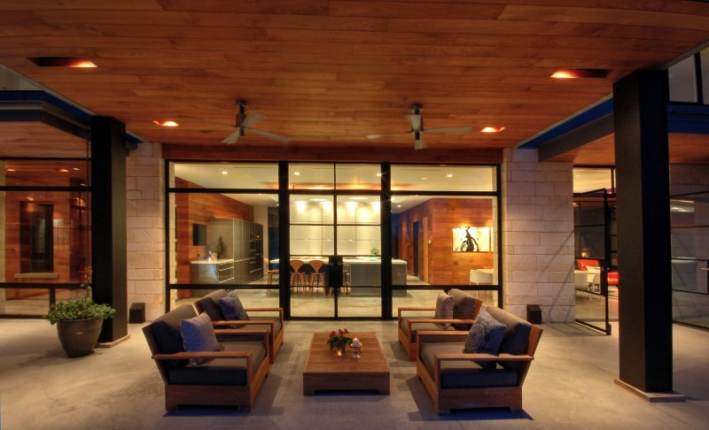 Hill Country Residence by Cornerstone Architects 02