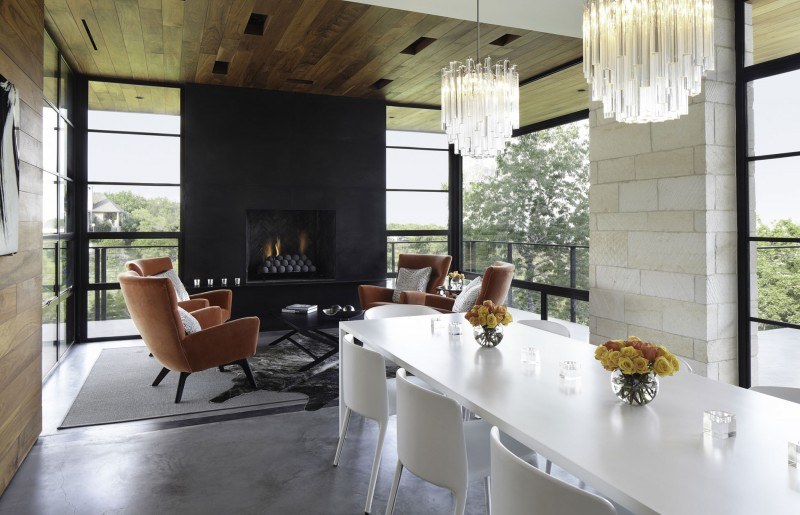 Hill Country Residence by Cornerstone Architects 08