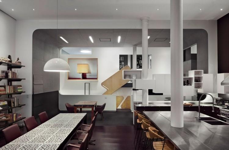 White Street Loft in New York by WORKac 05