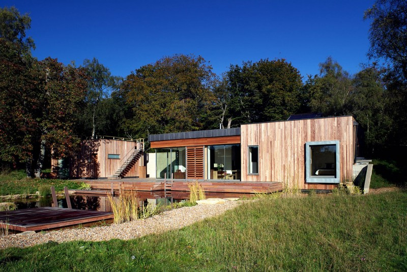 New Forest House by PAD studio 11